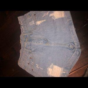 BEAND NEW Zaful Jean Shorts